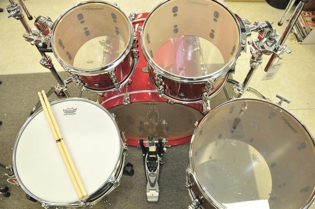 drums half circle set up