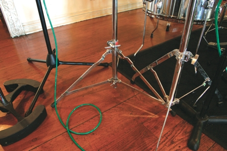 Slingerland stand for 70s drum sound