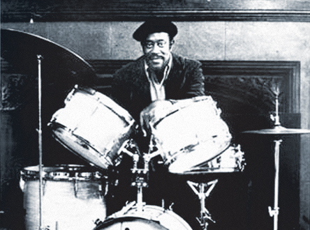 fred below on drums