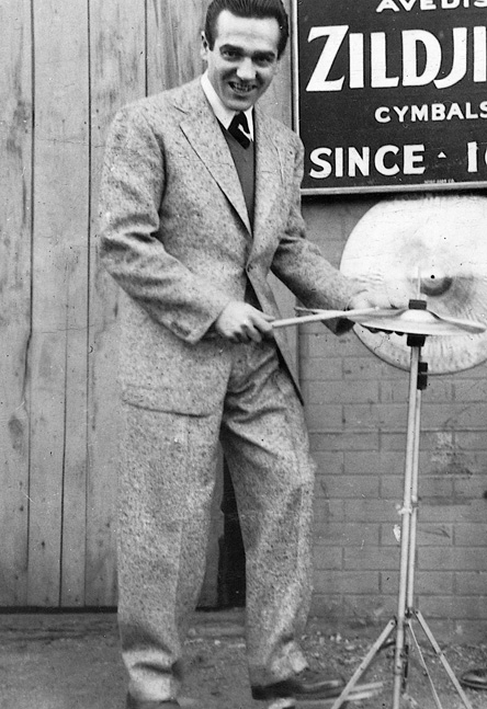 gene krupa with cymbals