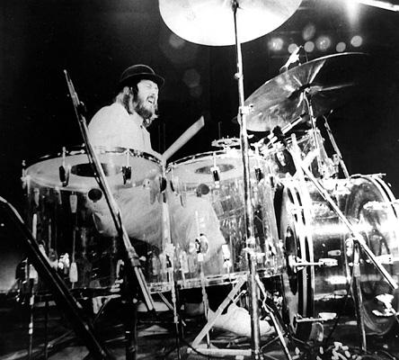 jonn bonham on a drum concert