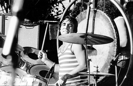 keith moon on drums