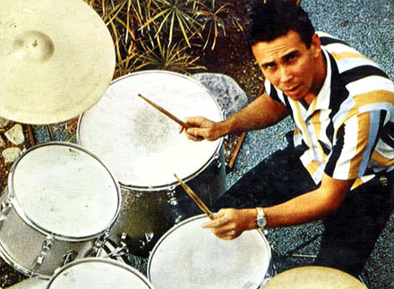 sandy nelson on drums