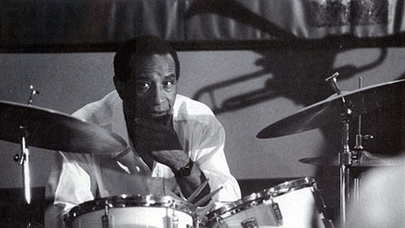 max roach on drums