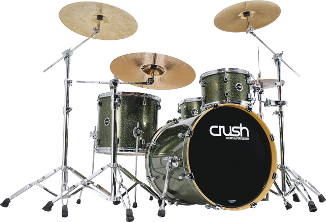 Crush Drums And Hardware