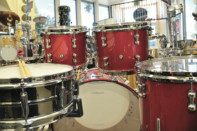 height of snare drum