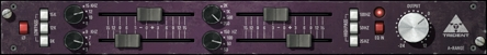 The EQ section of the Trident A range for 70s drum sound
