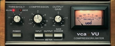 Vintage dbx 160 units for 70s drum sound