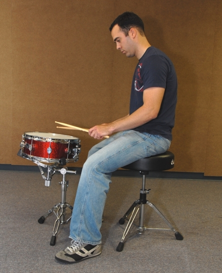 drum set position 2