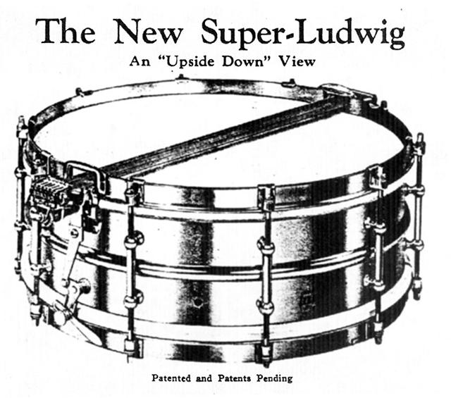 the new Ludwig Super Sensitive