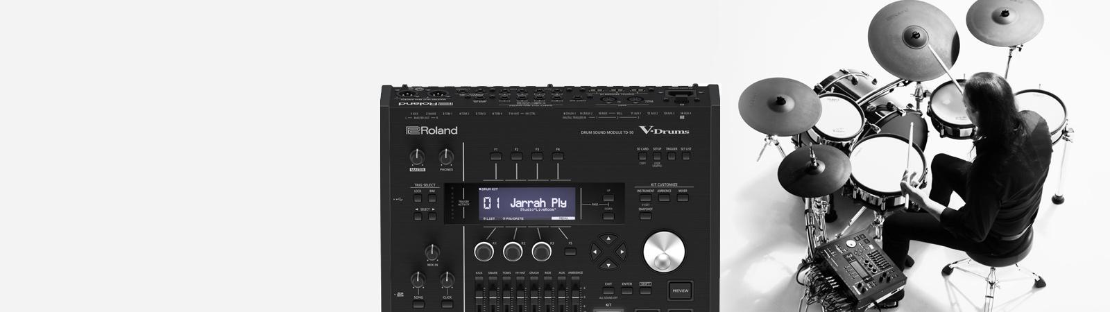Electronic drum setup tune kit