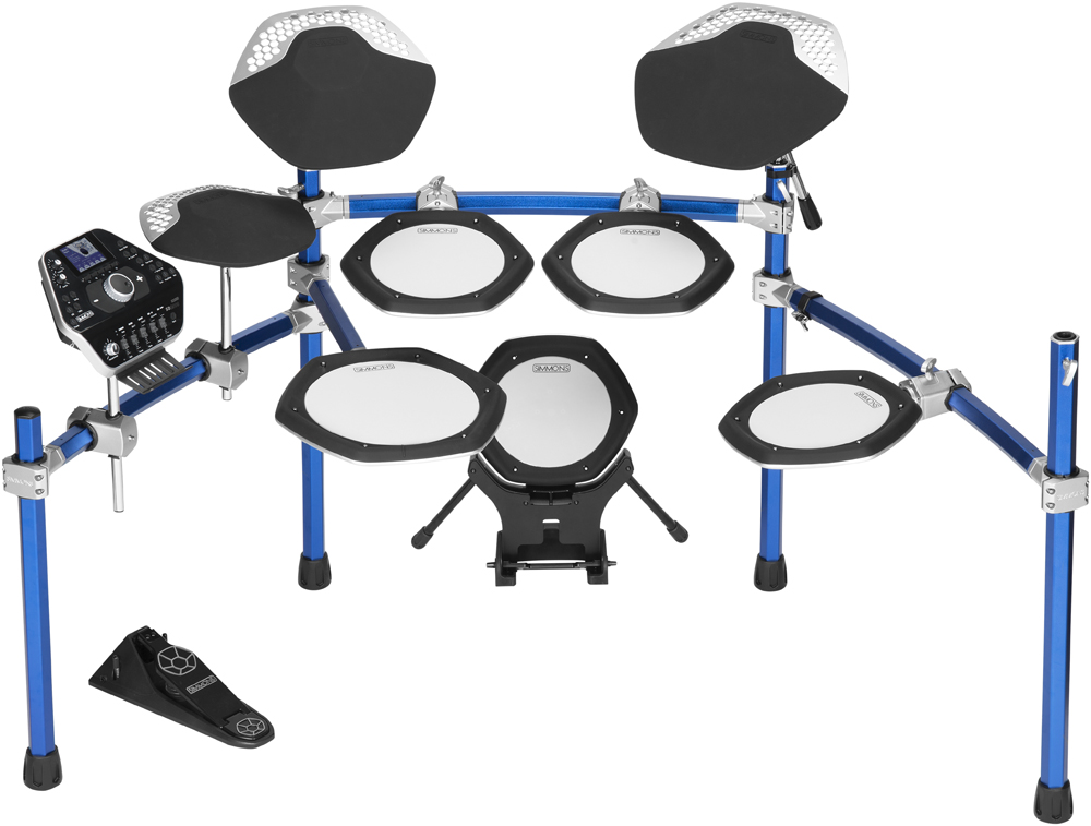 simmons unveils sd2000 electronic drums drum magazine. Black Bedroom Furniture Sets. Home Design Ideas