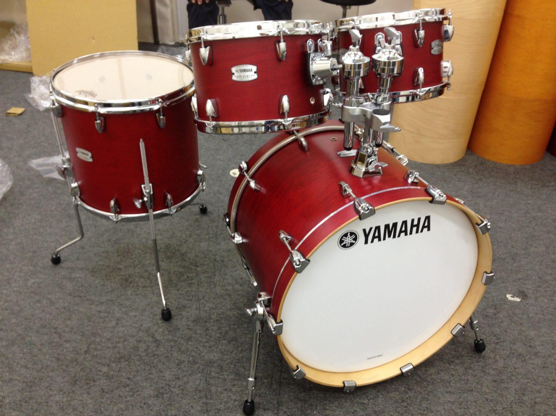 yamaha unveils tour custom maple drum set at summer namm drum. Black Bedroom Furniture Sets. Home Design Ideas