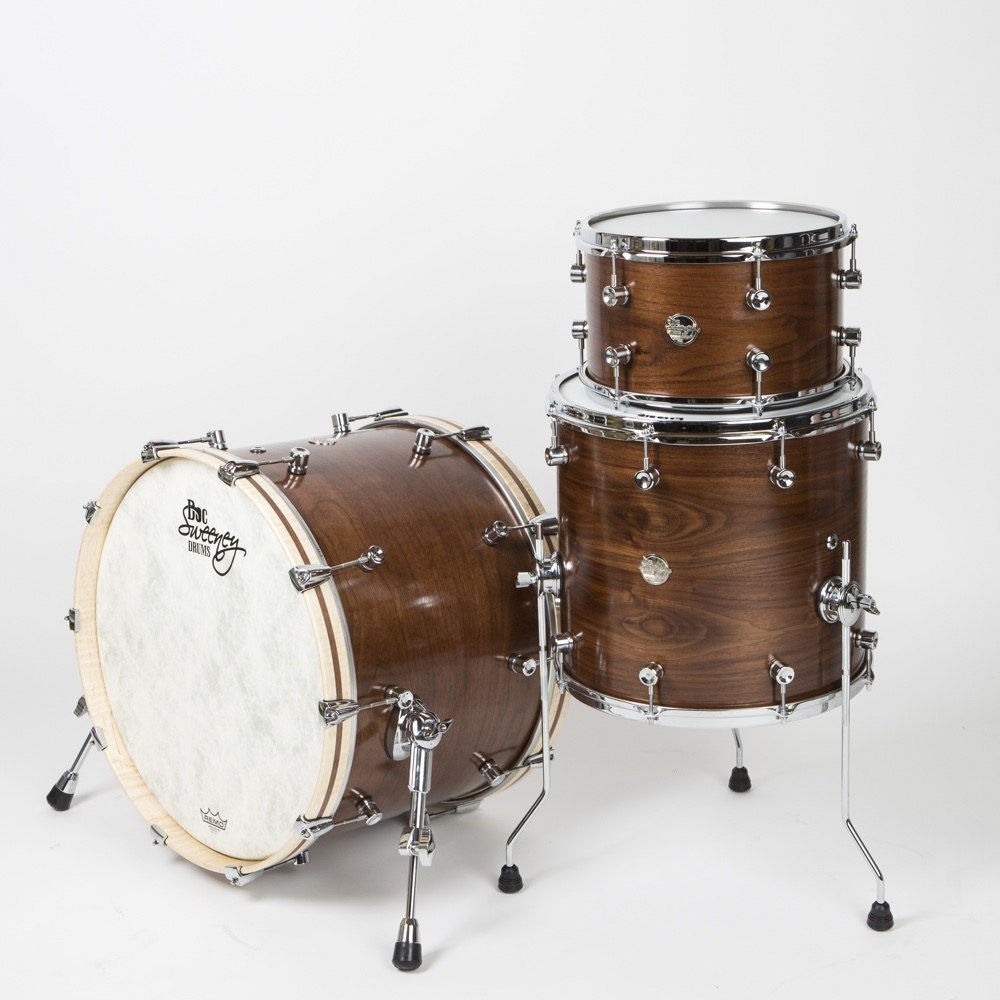 Walnut #One: The company's first steam-bent kit. For more, see Drum's Soundlab review in the May 2017 issue.