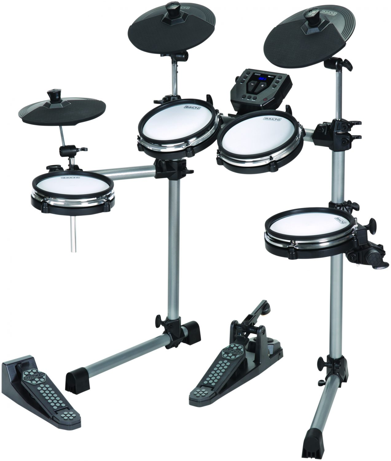 simmons introduces sd350 mesh head electronic drum kit drum magazine. Black Bedroom Furniture Sets. Home Design Ideas
