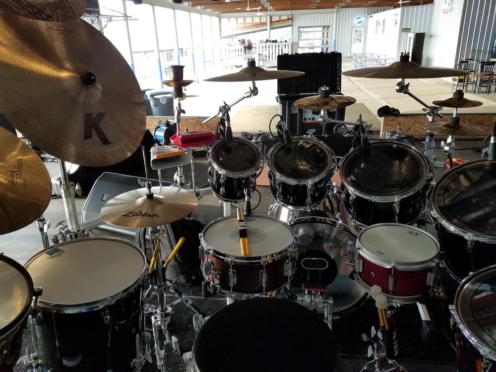 Carter Beauford Drum Set