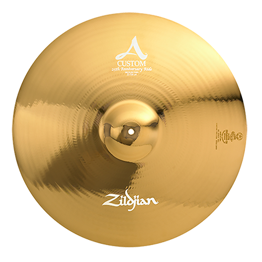 zildjian introduces 23 a custom 25th anniversary limited edition ride drum magazine. Black Bedroom Furniture Sets. Home Design Ideas