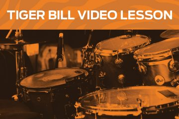 Tiger Bill video drum lesson