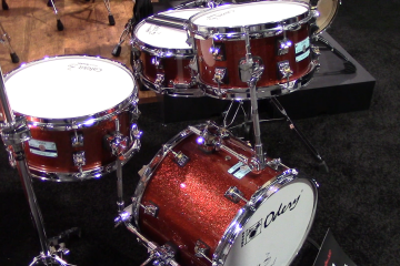 Odery Custom Drums At Winter NAMM 2018