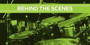 radio king snare drum behind the scenes