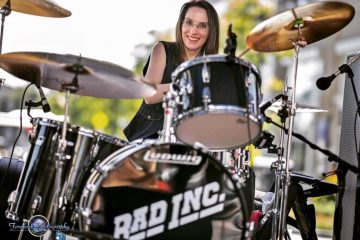 Amy Hall drummer