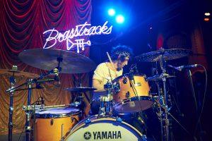 Drummer Conor Rayne of Brasstacks