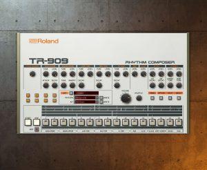 roland tr909 drum machine cloud software
