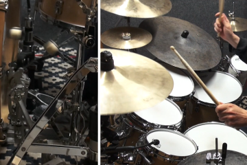 glen sobel double bass drum lesson video