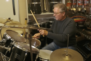 Drum Video Lesson Playing Fills with a Backbeat Joe Smythe