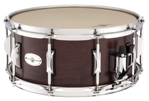 Black Swamp concert maple snare snare in cherry finish