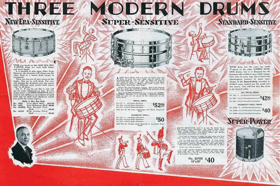vintage gear snare hardware evolution image 005