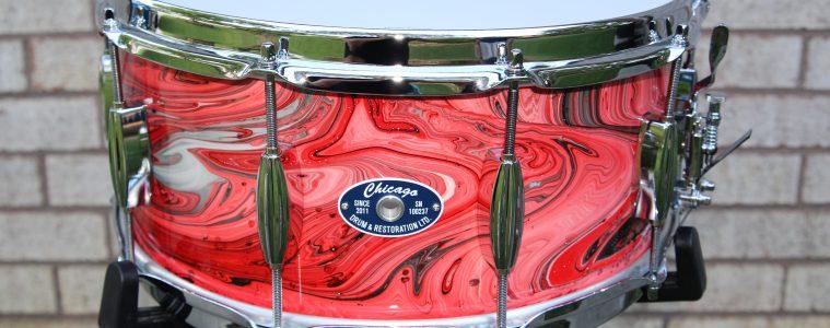chicago drum pretty things finish