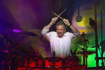 Nick Mason's Saucerful of Secrets at Roundhouse, London, Sept. 24, 2018. Photo by Jill Furmanovsky