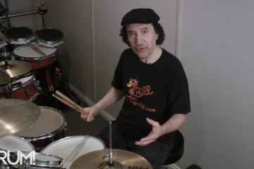 tiger bill drum lesson superimposing odd time signatures over jazz