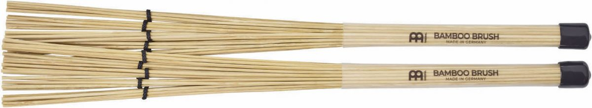 Meinl's bamboo brushes