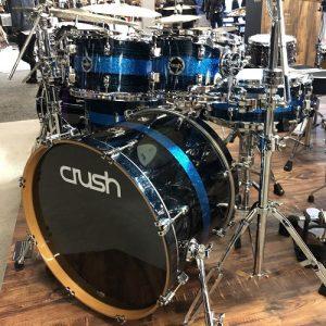 Crush drum set