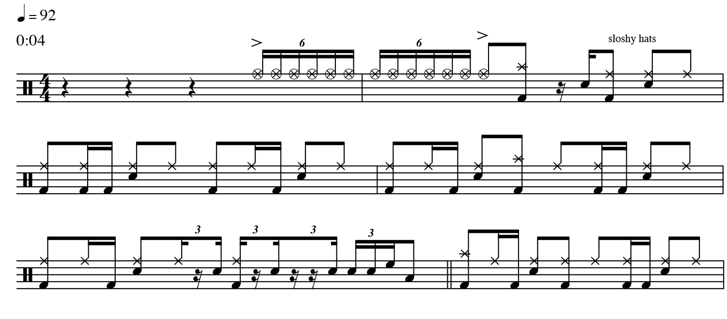 Danny Wagner music notes