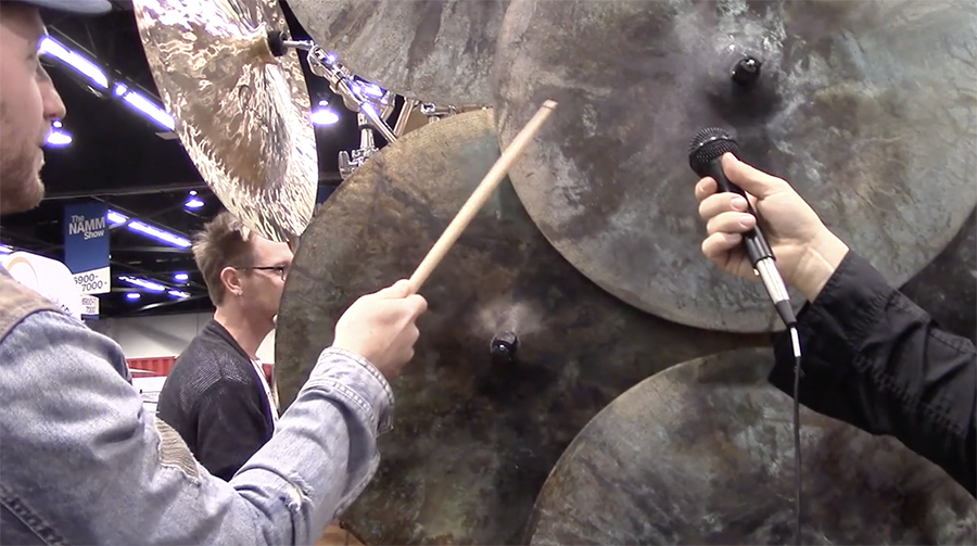 Dream debuted a patina-covered ride cymbals last year at NAMM