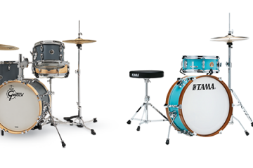 gretsch and tama mini drum sets