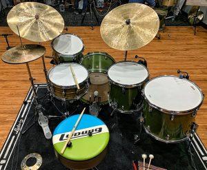 Carter McLean sticks on drums