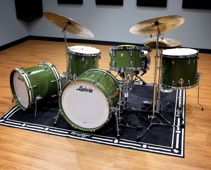 Carter McLean's new Ludwig kit will look a lot like this one