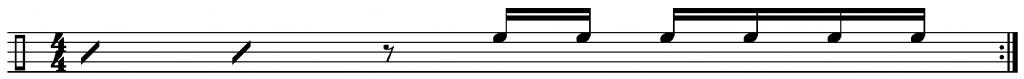 Warm Ways drum fills