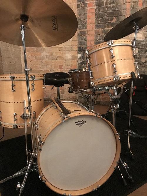 Steve Lyman's Craviotto drum kit