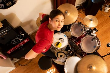 Hit Like A Girl 2019 Drumset & Technology Finalist Gwen Shahboz