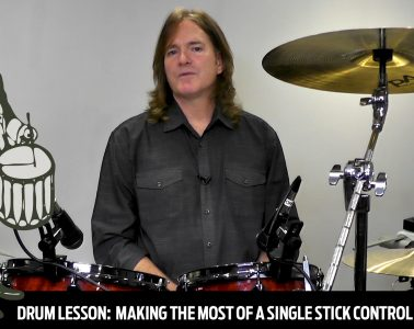 Practice Pad Lessons Workshop with stick control
