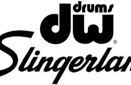 dw and slingerland drums logos