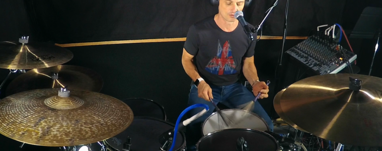 non-jazz drum brushes