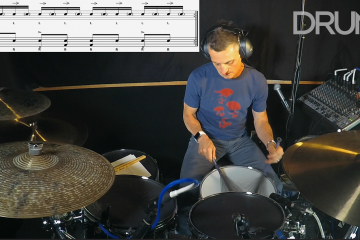 non-jazz brushes drum lesson