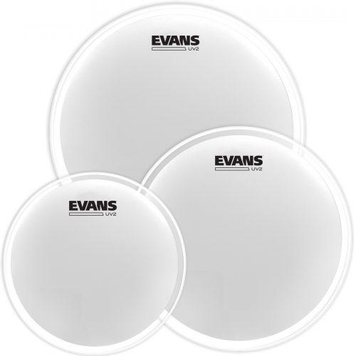 Evans UV2 drumheads