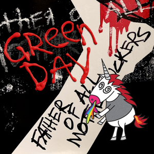 """Green Day """"Father Of All..."""" album cover"""